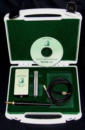 MeriDiM® 2.0;  4 Modullal (választható Modulok:  Fülakupunktúra, Testakupunktúra, H-B-S, Gog&Gerinc, Fülfázisok, Csakra-akupunktúra)